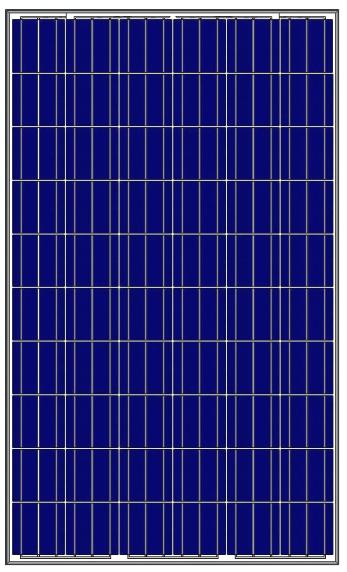 Fotovoltaicky panel pre Zelena domacnostiam Amerisolar 260W