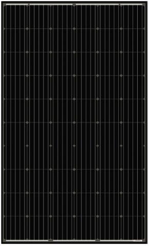 Fotovoltaický panel AmeriSolar 300 W.